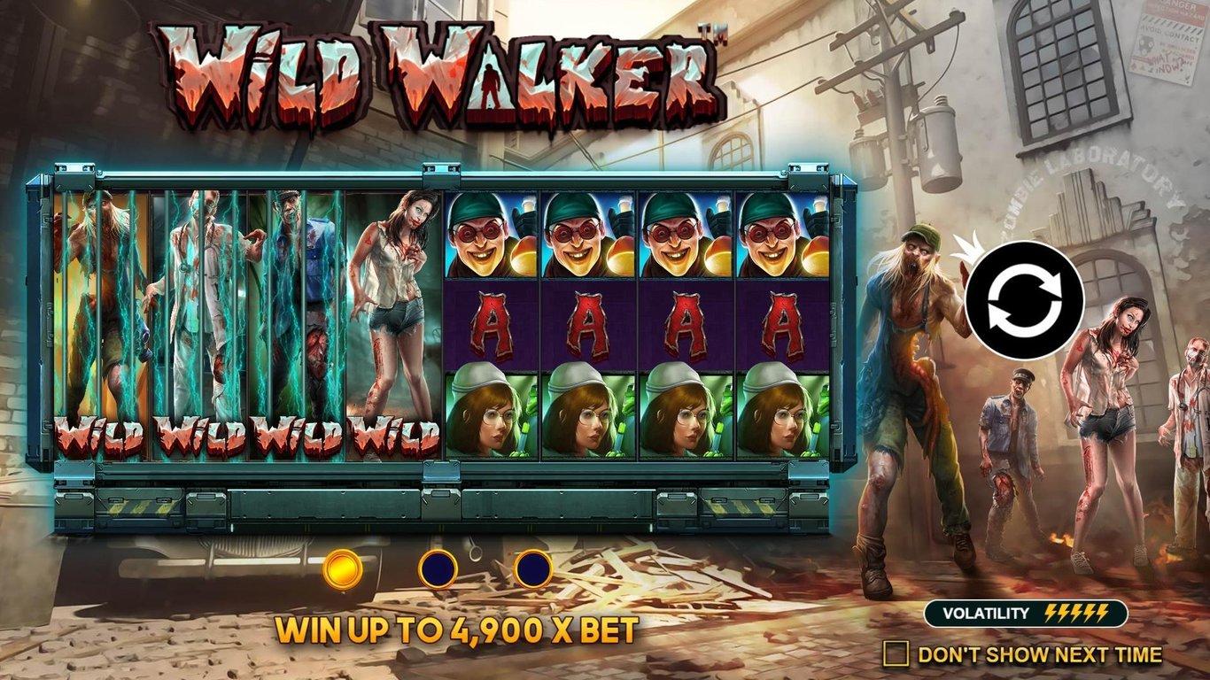 Wild Walker Review Pragmatic play